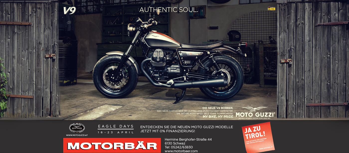 Moto Guzzi 0% Finanzierungsaktion